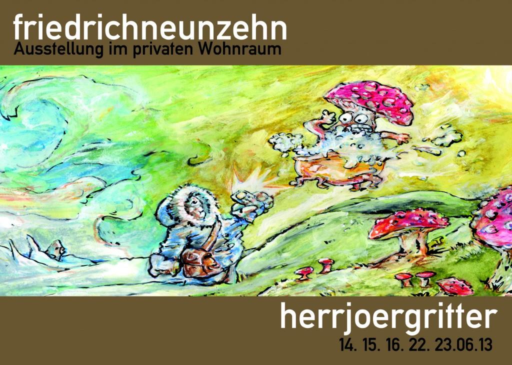 """Ausschnitt aus dem Bild """"Urlaub"""". Ein Foto und  Informationen zu weiteren Ausstellungen dieser kleinen und hochfeinen Galerie findet Ihr hier: http://www.friedrichneunzehn.de/vergangene-ausstellungen.html"""